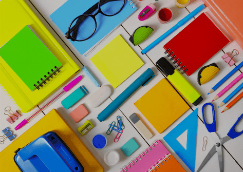 Jotterbook and Stationeries